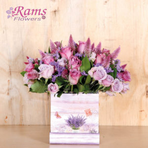 Rams Flowers-RF007-Lovely Lilac