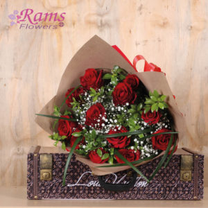 Rams Flowers-RF020-Romantic Red-2