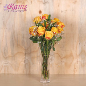 Rams Flowers-RF032-Yellow Rose Special-2