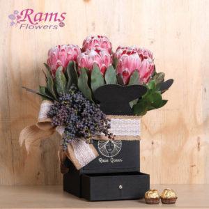 Rams Flowers-RF040- Protea Delight-2