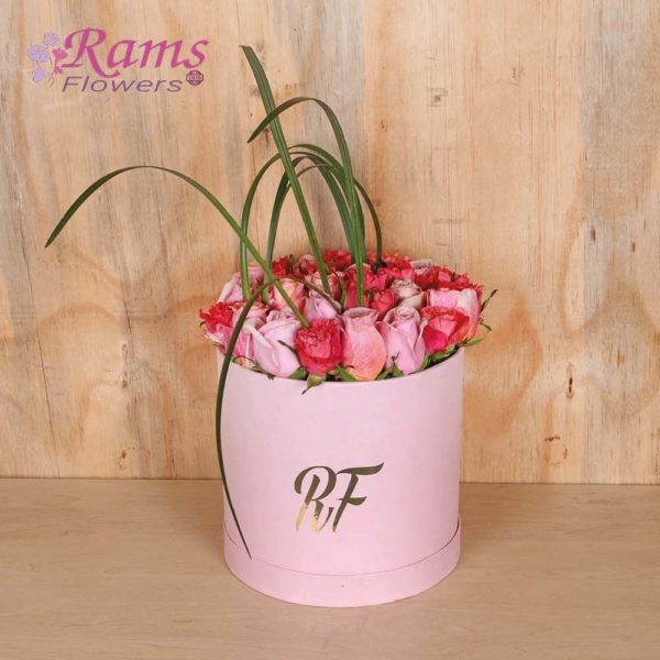 Rams Flowers Mixed Pink Delight