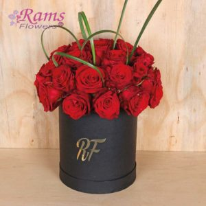 Rams Flowers Red Box Delight